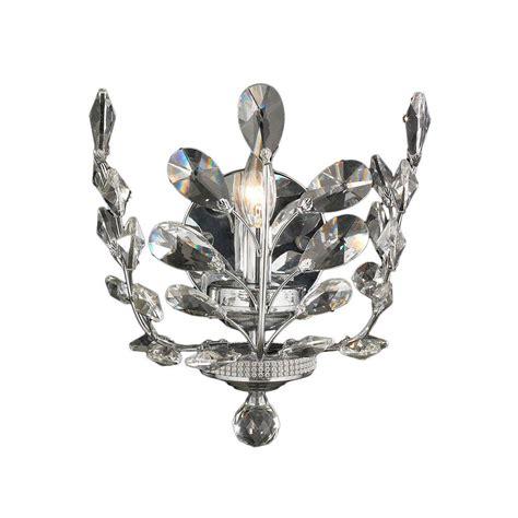 worldwide lighting aspen collection 1 light chrome crystal
