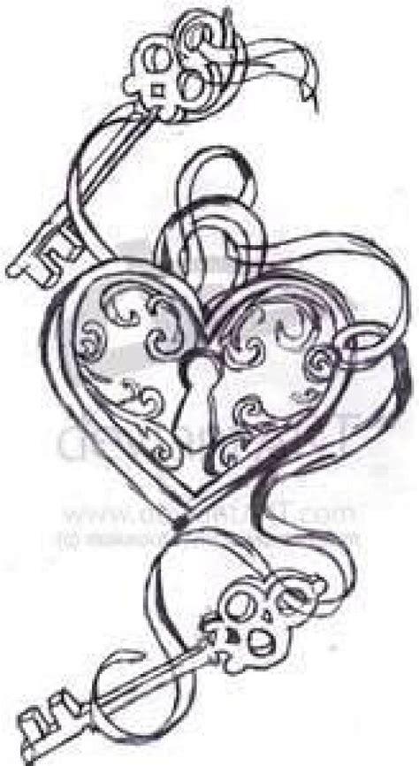 lock  key tattoos women tattoo ideas favorite