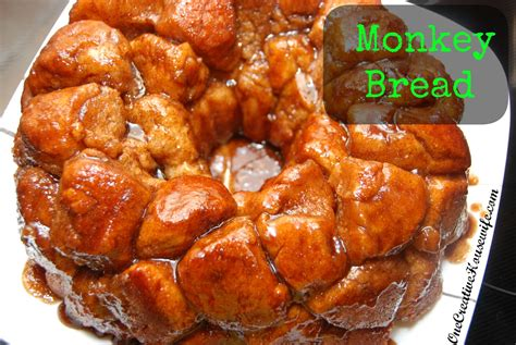 In small bowl, mix brown sugar and butter; One Creative Housewife: Monkey Bread