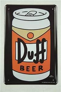 Duff Bier Kaufen : blechschild die simpsons bierdose duff bier beer 20x30 cm ~ Jslefanu.com Haus und Dekorationen