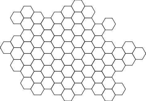 honeycomb outline clip art  clkercom vector clip art