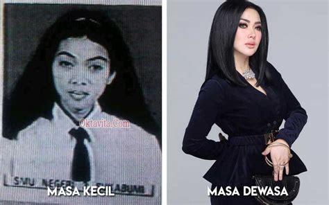 deretan foto foto artis indonesia semasa kecil  remaja