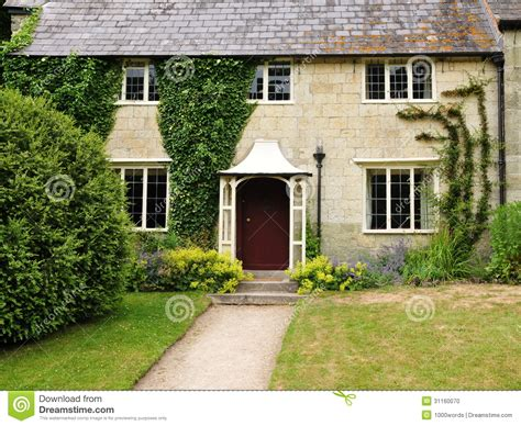 Cottage Inglesi Cottage E Giardino Inglesi Fotografia Stock Immagine Di