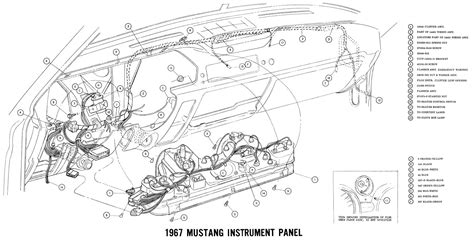 Wiring Diagram Mustang by Free Auto Wiring Diagram 1967 Ford Mustang Instrument Panel