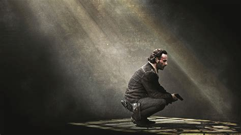 Animated Walking Dead Wallpaper - wallpaper rick grimes the walking dead 4k tv series