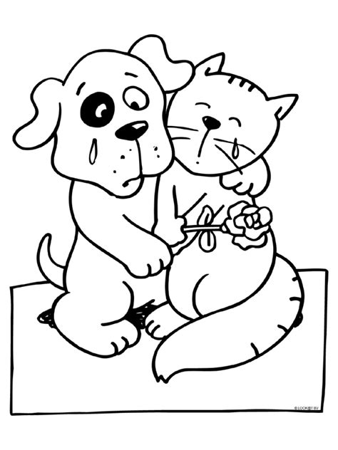 Afscheid Kleurplaat by Kleurplaat Verdriet Afscheid Hond Kleurplaten Nl