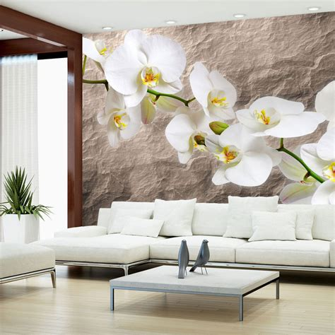 Tapeten Wohnzimmer Blumen by Vlies Fototapete Tapete Wandbilder Tapete Blumen 400x270