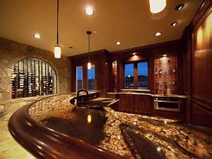 Luxury Wine Cellars by Timber Ridge Properties