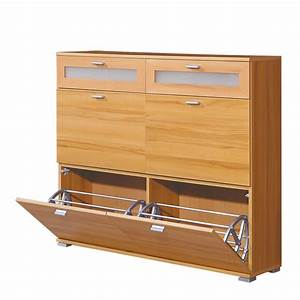 Commode Pour Chaussures Rubiera Htre Home24fr