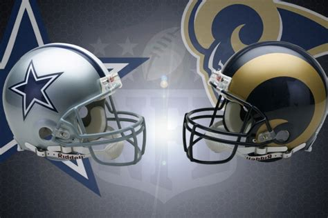 nfl week   dallas cowboys  los angeles rams