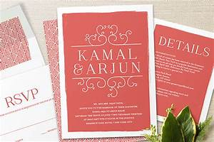 minted exquisite wedding invitations from the wedding With indian wedding invitations minted