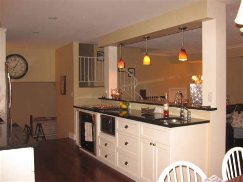 room divider island kitchen   kitchen redo