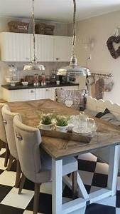 Riviera Maison Table : riviera maison keuken table design fits chairs better kitchen pinterest kitchens dining ~ Markanthonyermac.com Haus und Dekorationen