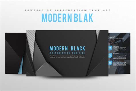modern black powerpoint template creative powerpoint