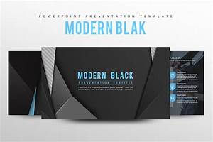 Modern Black Powerpoint Template