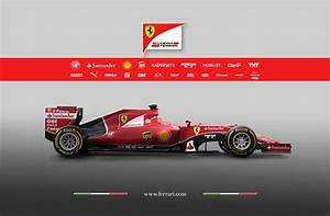 F1 Une Vingtaine De Sponsors Sur La Nouvelle Ferrari SF15 T