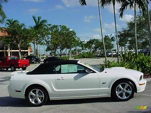 2008 Performance White Ford Mustang GT Premium Convertible #441551 Photo #2   GTCarLot.com - Car ...