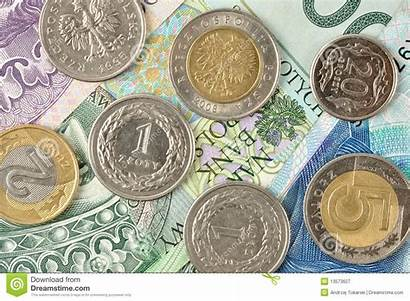 Polish Money Coins Currency Royalty Bank Dreamstime