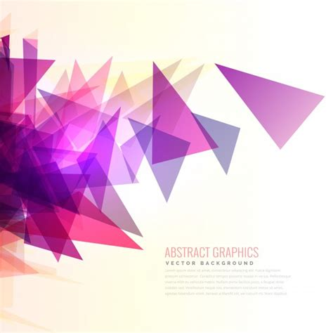 Abstract Geometric Shapes Transparent Background by Abstract Background With Purple Triangles Vector Free
