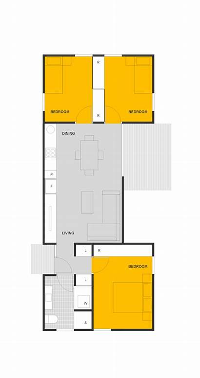 Floor Granny Plans Homes Compact Spaces Flat