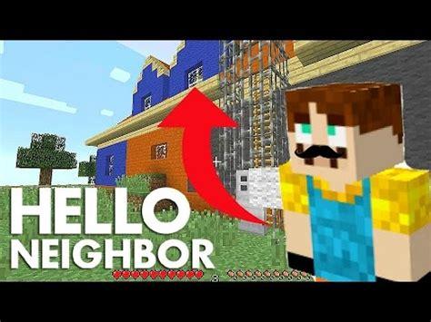 minecraft hello neighbor alpha 2