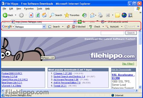 Download Google Toolbar 7.5.4209.2358 (ie) For Pc Windows