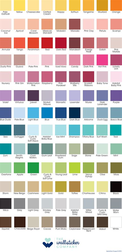 color chart buy removable wallpaper chevron design