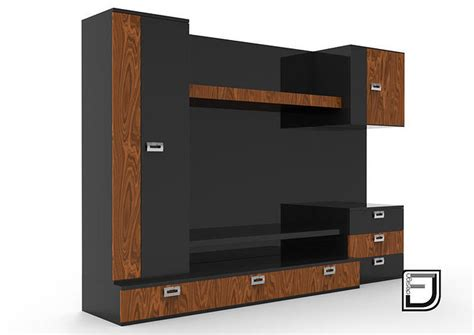 video tv stand  cgtrader