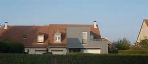 extension ossature bois drome devie travaux a wavrin 59 a With plan maison gratuit 3d 16 extension agrandissement de maison individuelle