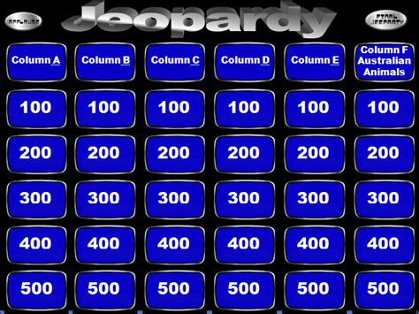 jeopardy powerpoint template    highest