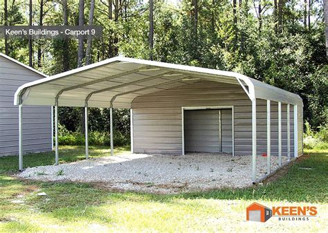 Carport With Storage Shed by Steel Carports Keen S Buildings