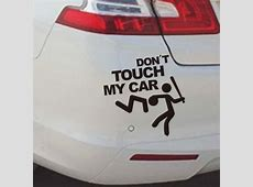 Don't Touch My Car Vinyl Decal Graph end 4152019 609 PM