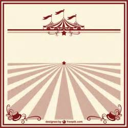 Vintage Circus Templates