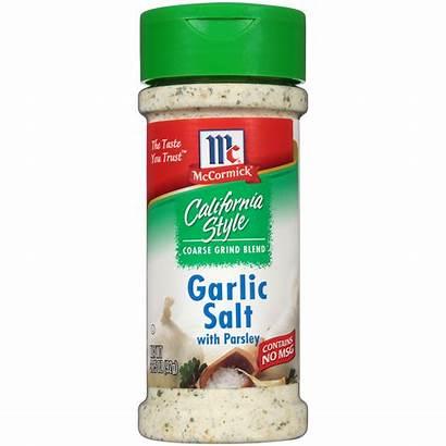 Garlic Salt Mccormick California Pepper Parsley Oz