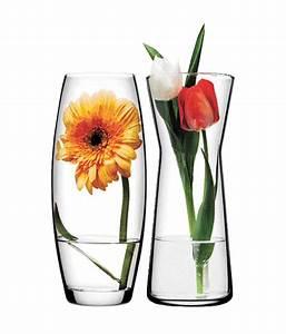 Pasabahce Glass Gardenia Flower Vase (set Of 2): Buy