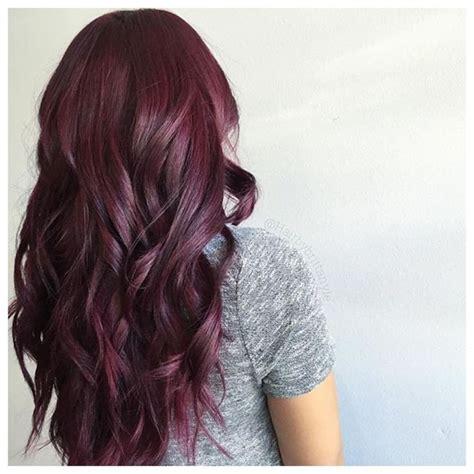 reddish purple hair color 25 best hair ideas on hair