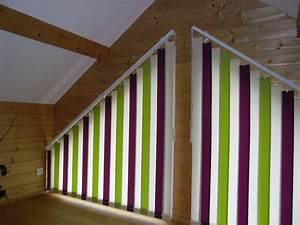 Store à Lamelles Verticales : stores bandes verticales trap ze apl textiles ~ Premium-room.com Idées de Décoration