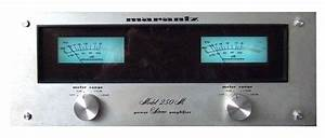 Marantz 250m - Manual - Stereo Power Amplifier
