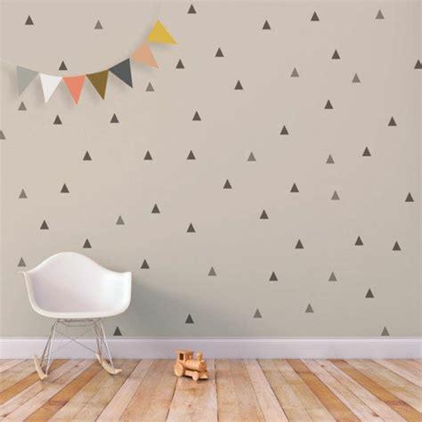 Wandtattoo Kinderzimmer Dreiecke by Wandtattoos F 252 R Kinderzimmer Eine Idee Archzine Net