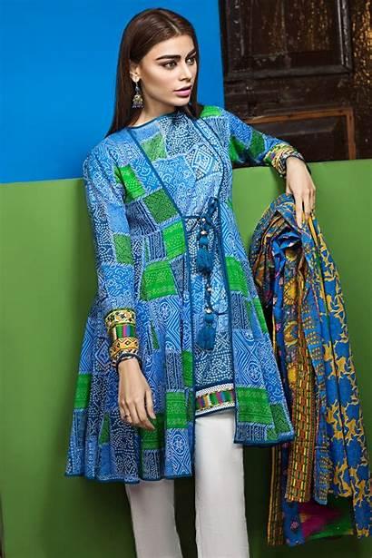 Lawn Khaadi Dresses Designs Summer Latest Printed