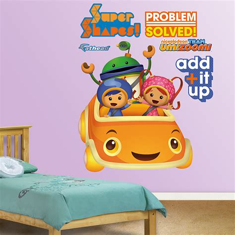 Team Umizoomi Bedding by Team Umizoomi Umicar Wall Decal Shop Fathead 174 For Team