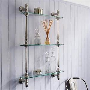 Glass Bathroom Shelves Chrome WoodWorking Projects Plans