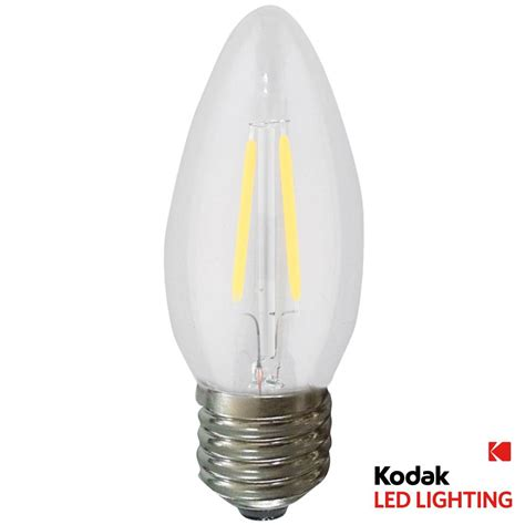 kodak 55w equivalent warm white b11 torpedo dimmable led