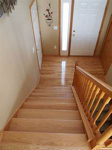 hardwood in the split level home a project blog natural With how to level floors in a house