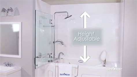 step safe tub all new shower package by safe step walk in tubs