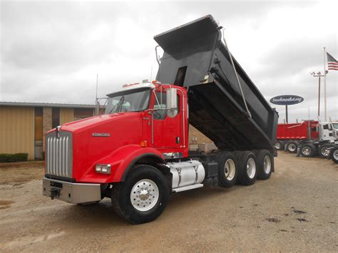 used kw for sale used 2008 kenworth t800 dump truck for sale in ms 6433