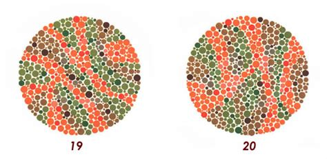 test di daltonismo esame della vista test sul daltonismo test di ishihara