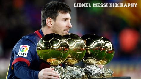 lionel messi biography the best players in soccer