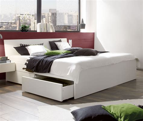 Weißes Schubkastenbett In Übergrößen Erhältlich Liverpool