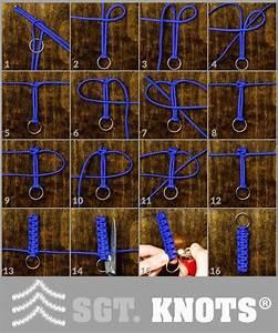 Easy Paracord Survival Key Faab Instructions Paracord